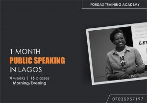 ONE MONTH PUBLIC SPEAKING AND PRESENTATION CERTIFICATE COURSE
