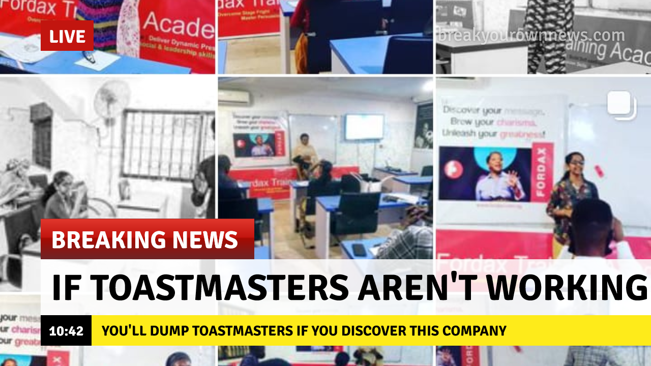 This Nigerian company will help you learn public speaking skills better than toastmasters